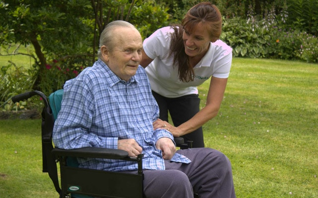 Live-in Care Assistant with Client