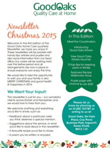 Home Care Newsletter