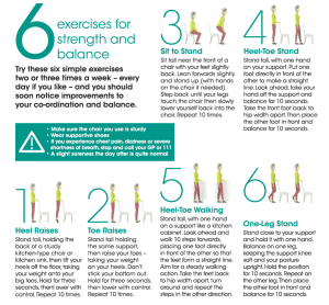 Physiotherapy at home exercises