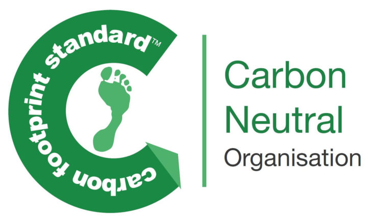 We're 100% Carbon Neutral